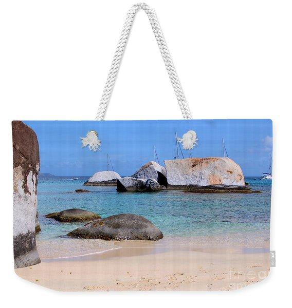Bath Beach Weekender Tote Bag