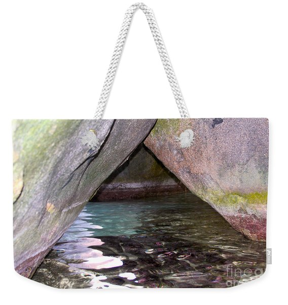 Bath Rocks Bvi Weekender Tote Bag