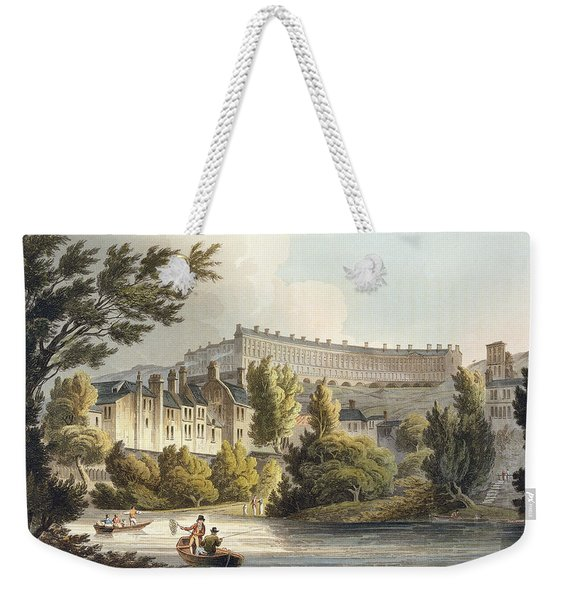 Bath Wick Ferry, From Bath Illustrated Weekender Tote Bag