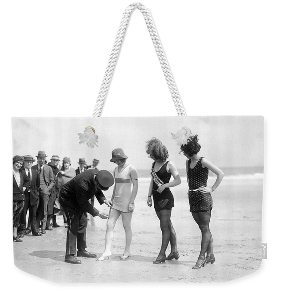 Bathing Suit Fashion Police Weekender Tote Bag