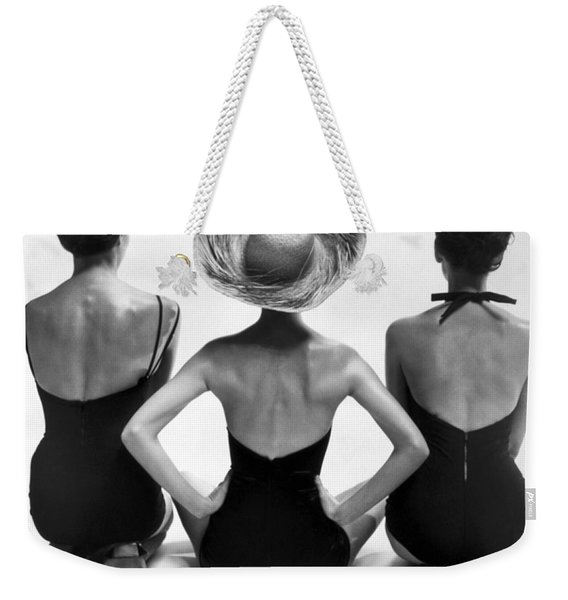 Bathing Suit Models Weekender Tote Bag