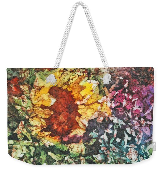 Sunflower Surprise Weekender Tote Bag