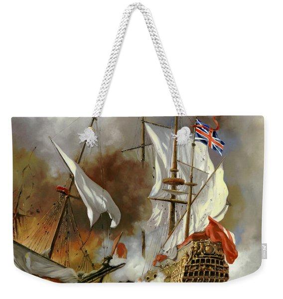 Battaglia Sul Mare Weekender Tote Bag