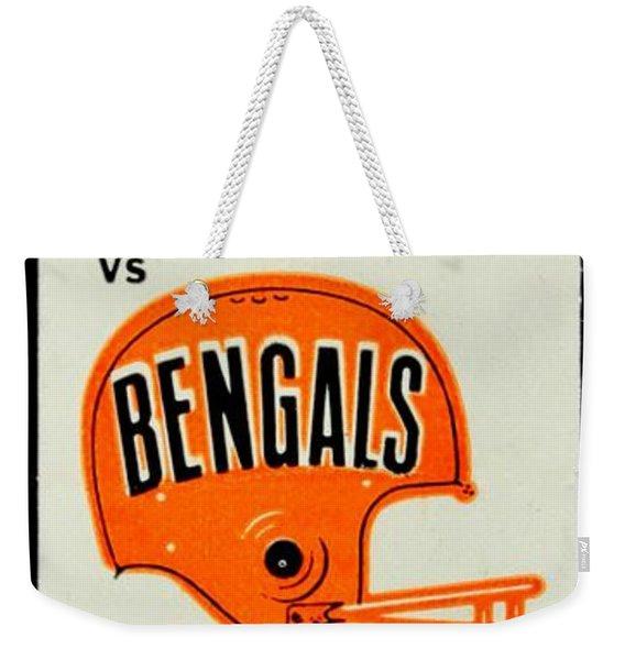 Battle Of Ohio Weekender Tote Bag