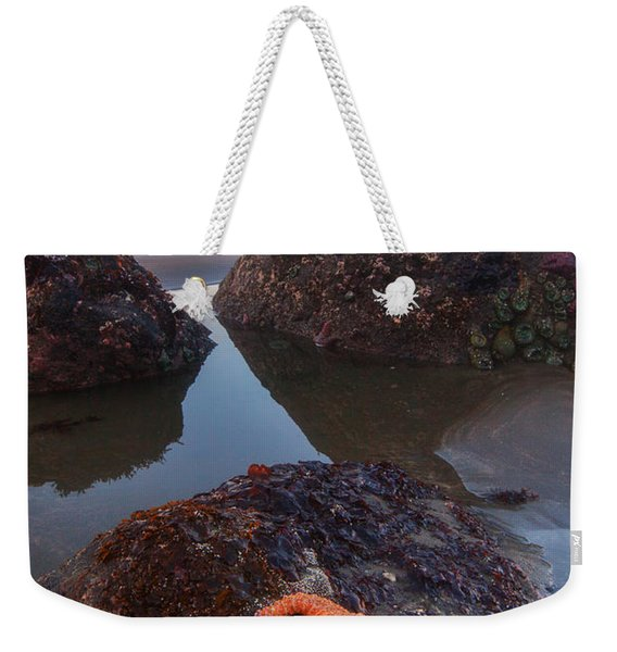 Battle Rock Sunrise Weekender Tote Bag