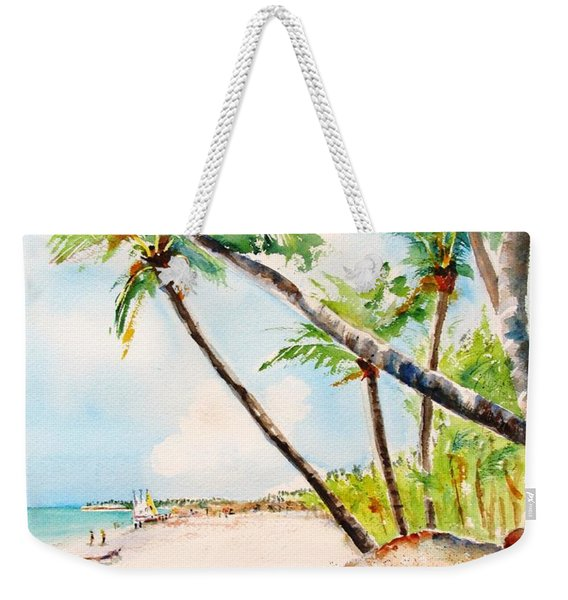 Bavaro Tropical Sandy Beach Weekender Tote Bag