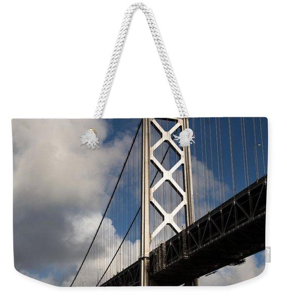 Bay Bridge After The Storm Weekender Tote Bag