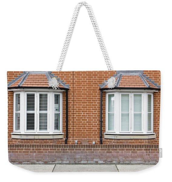 Bay Windows Weekender Tote Bag