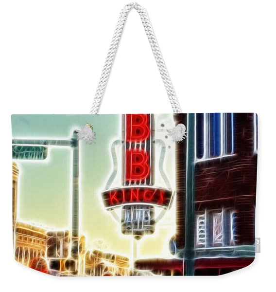 Bb King Club Weekender Tote Bag