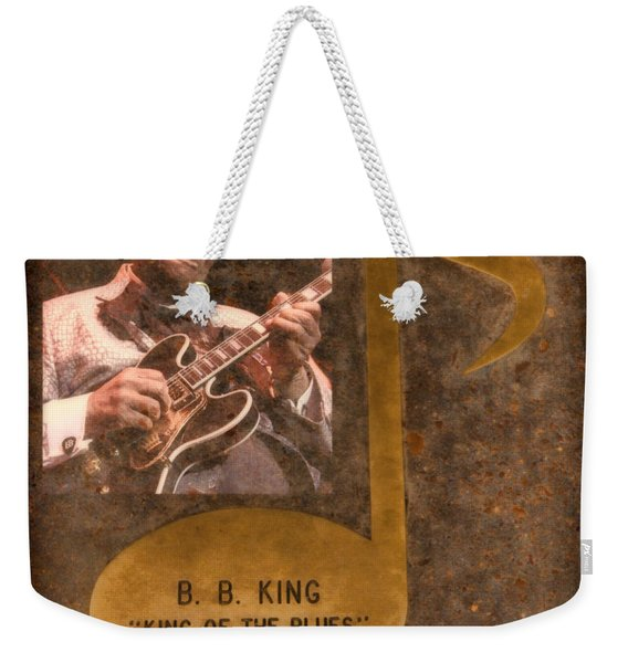 Bb King Note Weekender Tote Bag