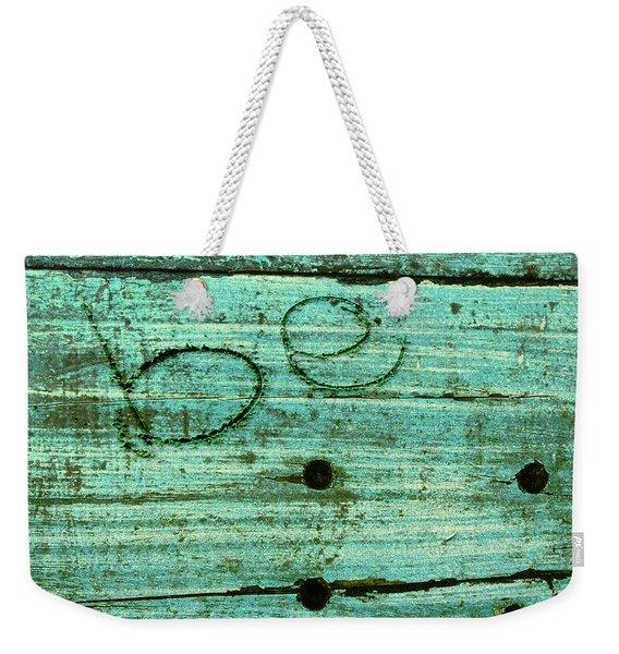 Be Weekender Tote Bag