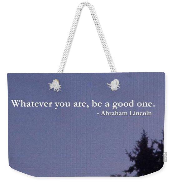 Be Your Best                  Weekender Tote Bag