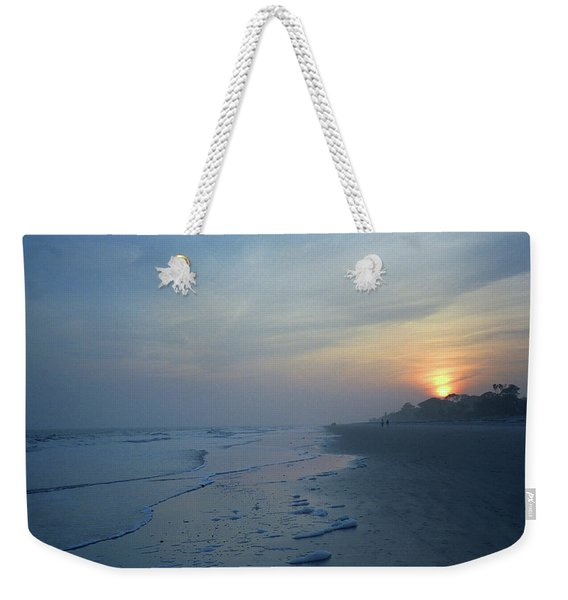 Beach And Sunset Weekender Tote Bag
