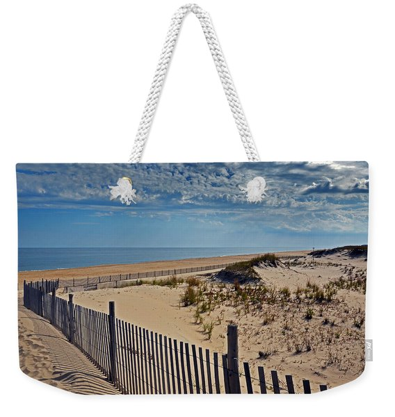 Beach At Cape Henlopen Weekender Tote Bag