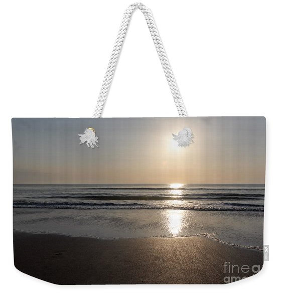 Beach At Sunrise Weekender Tote Bag