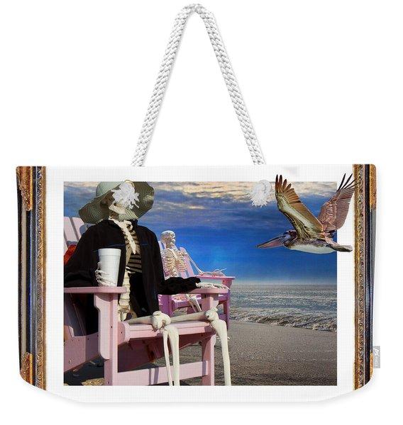 Beach Bones Weekender Tote Bag