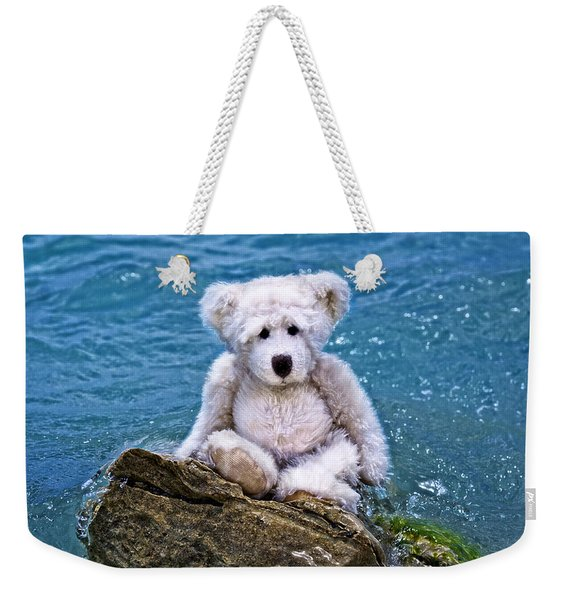 Beach Bum - Teddy Bear Art By William Patrick And Sharon Cummings Weekender Tote Bag