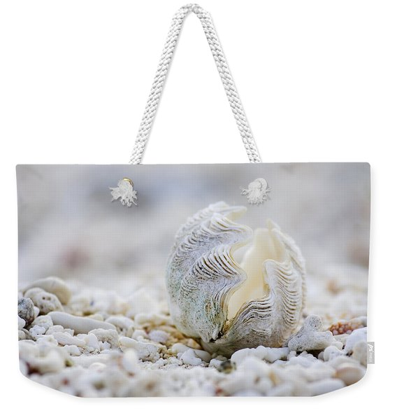 Beach Clam Weekender Tote Bag