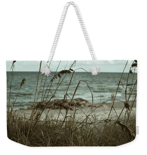 Beach Grass Oats Weekender Tote Bag