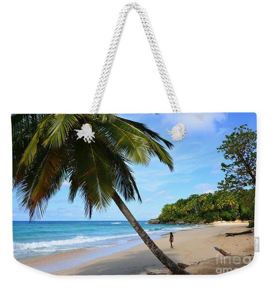 Beach In Dominican Republic Weekender Tote Bag