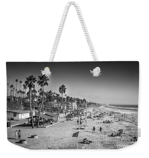 Weekender Tote Bag featuring the photograph Beach Life From Yesteryear by John Wadleigh