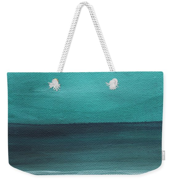 Beach Morning- Abstract Landscape Weekender Tote Bag