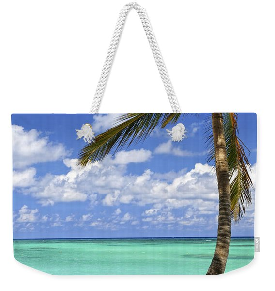 Beach Of A Tropical Island Weekender Tote Bag