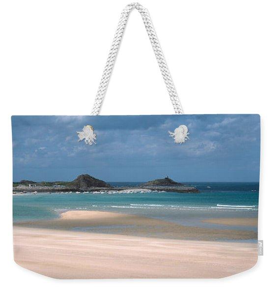 Beach Of Sables-dor-les-pins Near Cap Weekender Tote Bag