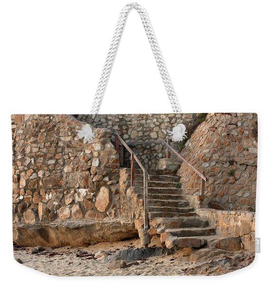 Beach Stairs Weekender Tote Bag
