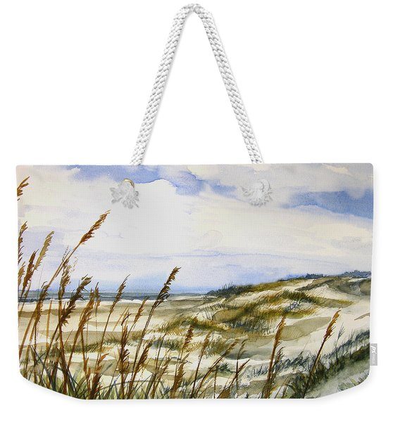 Beach Watercolor 3-19-12 Julianne Felton Weekender Tote Bag