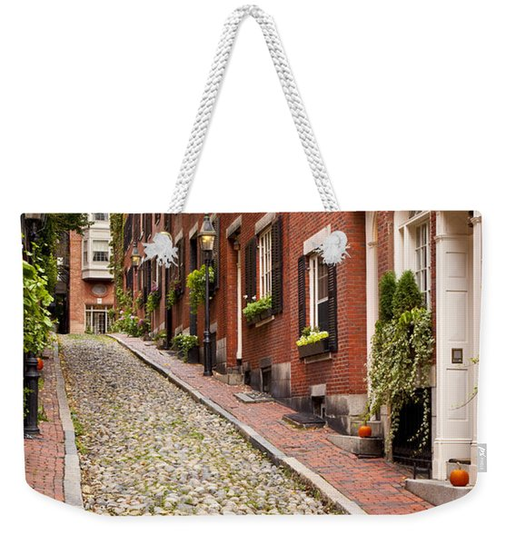 Weekender Tote Bag featuring the photograph Beacon Hill by Brian Jannsen
