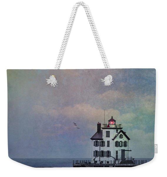 Beacon Of Light Weekender Tote Bag