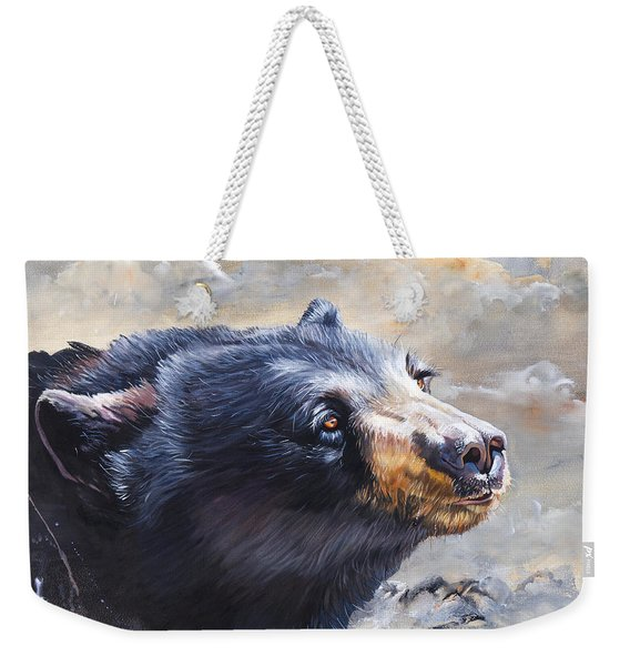 Four Winds Bear Weekender Tote Bag