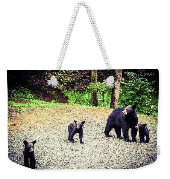 Bear Family Affair Weekender Tote Bag