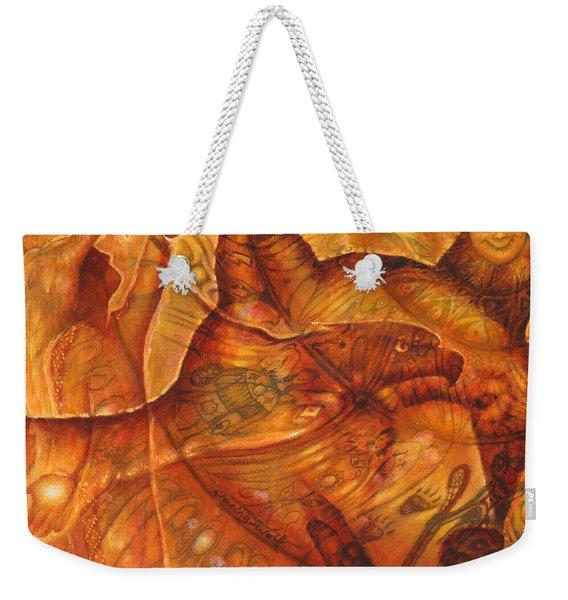 Bear Hands Weekender Tote Bag