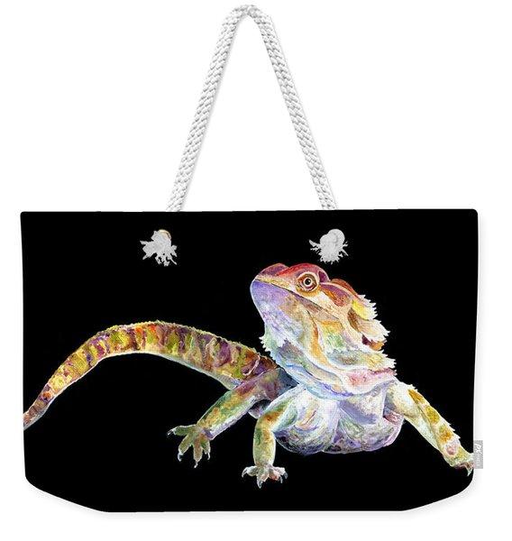 Bearded Dragon Weekender Tote Bag