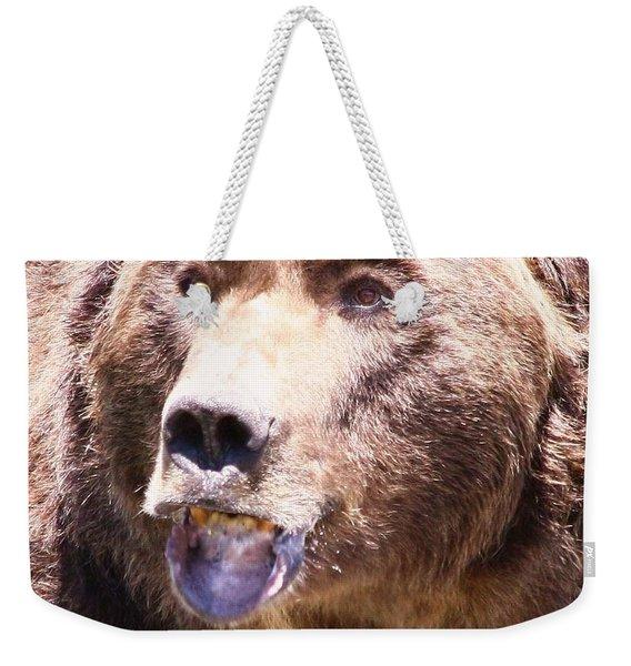 Bearing My Teeth Weekender Tote Bag