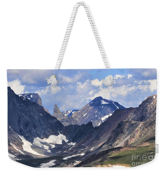 Beartooth Mountain Weekender Tote Bag