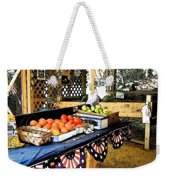 Beasley's Produce Weekender Tote Bag