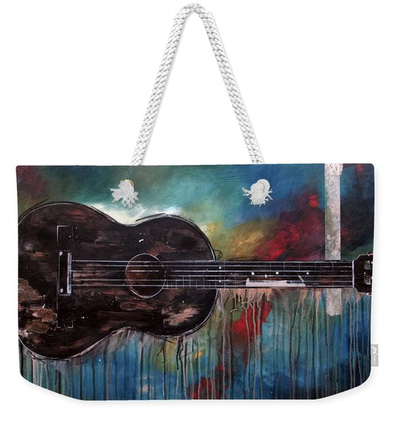 Bob Marley's First Weekender Tote Bag