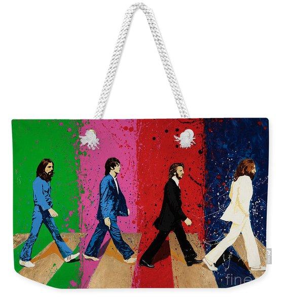 Beatles Crossing Weekender Tote Bag