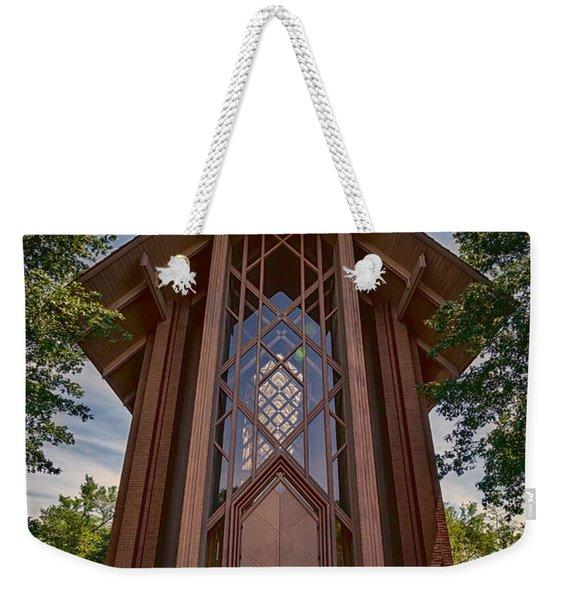 Beautiful Chapel Weekender Tote Bag