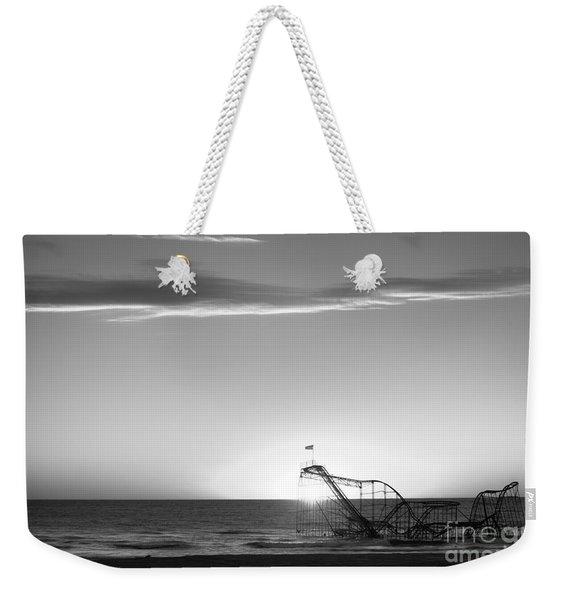 Beautiful Disaster Bw Weekender Tote Bag