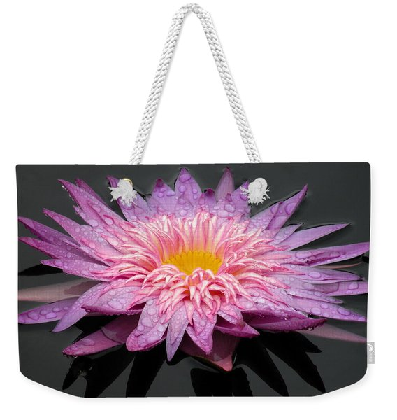 Weekender Tote Bag featuring the photograph Beautiful Lily by Kim Bemis