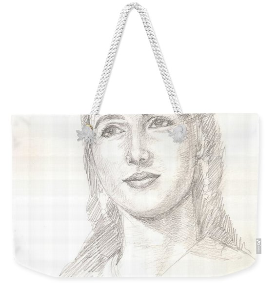 Beautiful Nutan Weekender Tote Bag