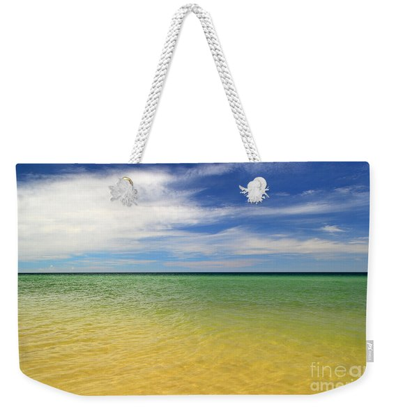Beautiful St George Island Water Weekender Tote Bag
