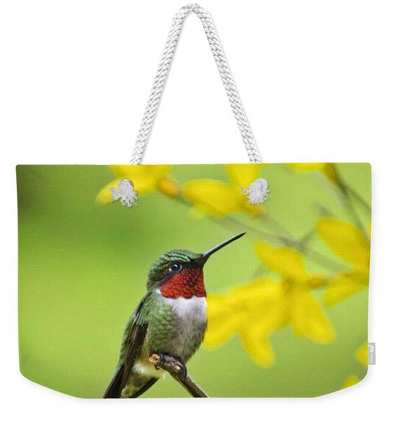 Beautiful Summer Hummer Weekender Tote Bag