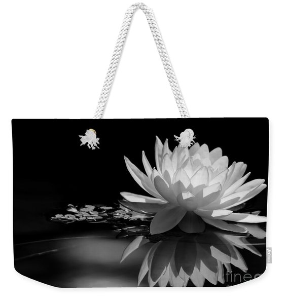 Beautiful Water Lily Reflections Weekender Tote Bag