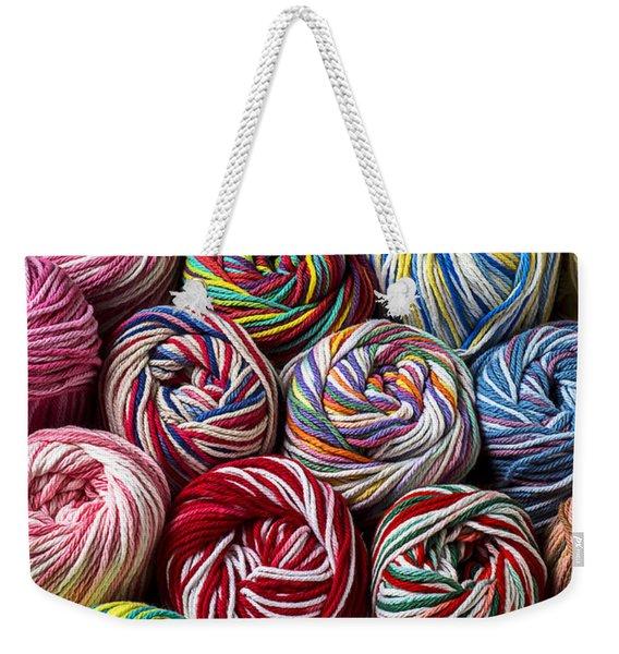 Beautiful Yarn Weekender Tote Bag