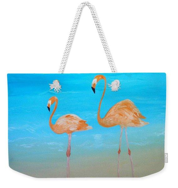 Beauty And Grace Weekender Tote Bag